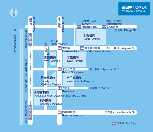 SUURI-COOL (Kyoto) Access Map