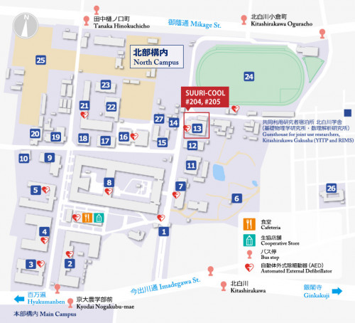 SUURI-COOL (Kyoto) Access Map 2