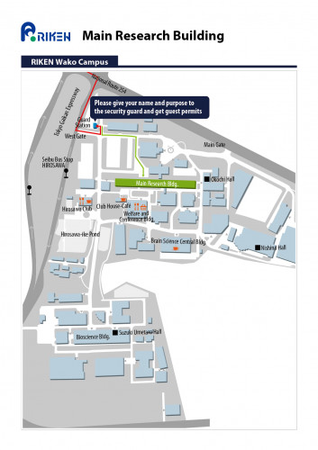 Main Research Building Access Map 2