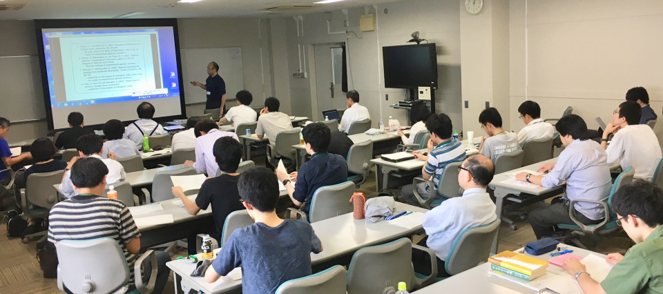 Prof. Satoshi Aoki's one day lecture was held on June 26 image