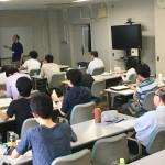 Prof. Satoshi Aoki's one day lecture was held on June 26 -- image1