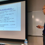 Prof. Satoshi Aoki's one day lecture was held on June 26 -- image2