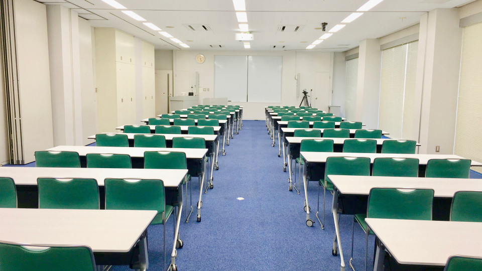 Large Meeting Room, 2F Welfare and Conference Building (Cafeteria)