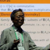 International Congress of Mathematicians (ICM) held at Rio de Janeiro, Brasil on August 1 - 4