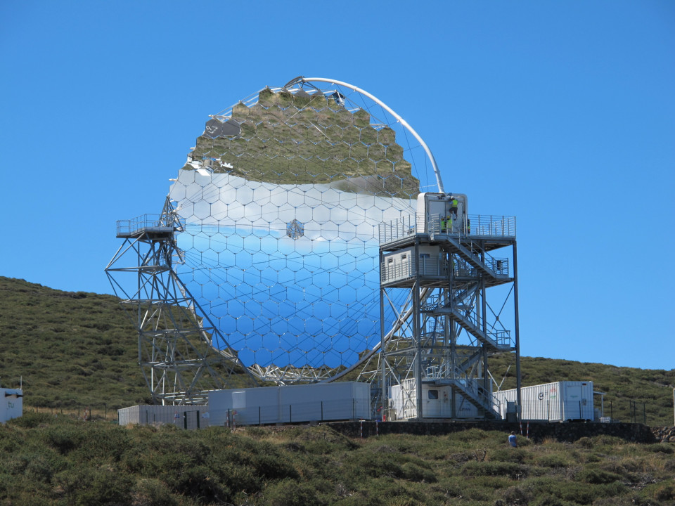 The First Telescope of a New Observatory for High-Energy Gamma-Ray Astronomy Makes its Debut image