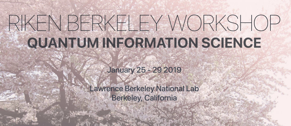 RIKEN-Berkeley WS on Quantum Information Science (RB19) image