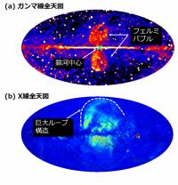 銀河中心「巨大ガンマ線バブル」の謎に迫る -1000 万年前 の大爆発を X 線で検証-