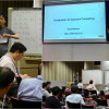 Dr. Shunji Matsuura from 1QBit gave a series of lectures