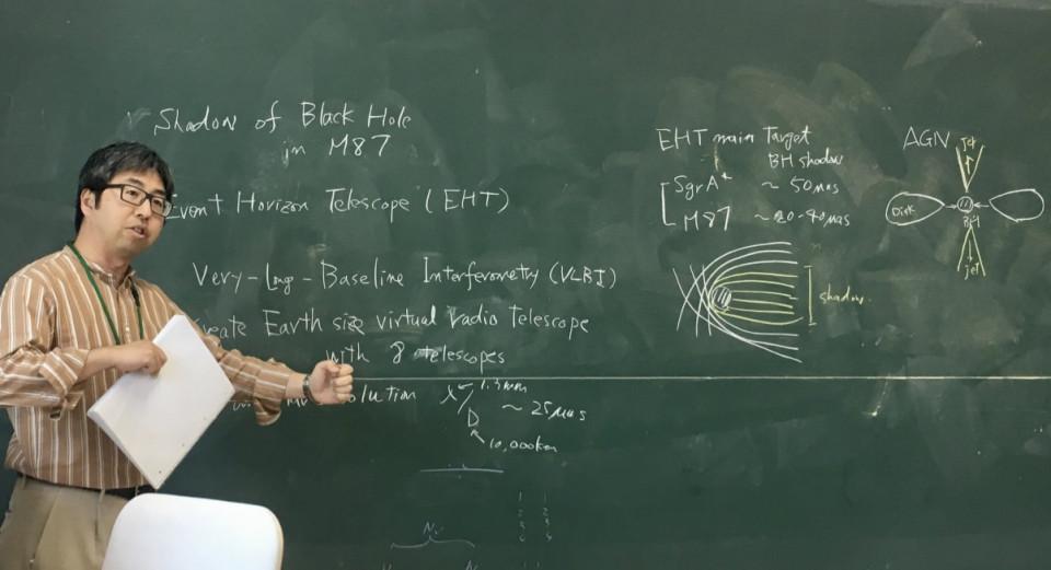 Introduction to Black Hole Shadow of M87 by Dr. Yosuke Mizuno