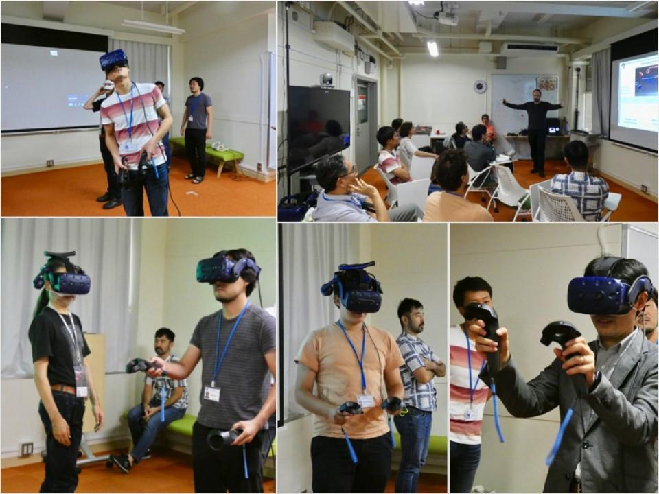 iTHEMS researchers host All-RIKEN VR Workshop image