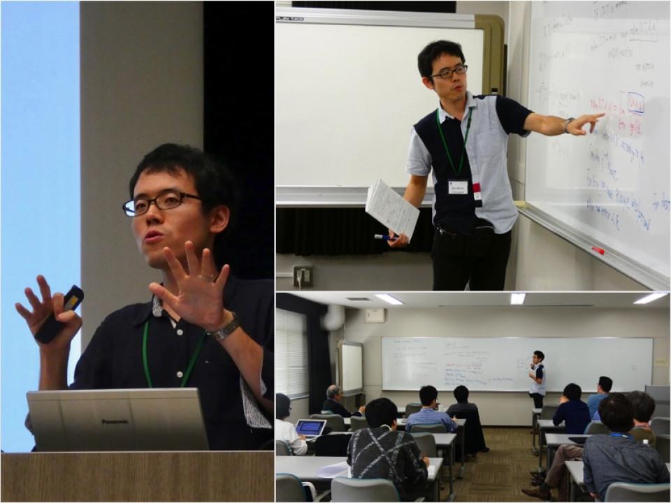 Math Seminar talks by Professor Masaki Tsukamoto image