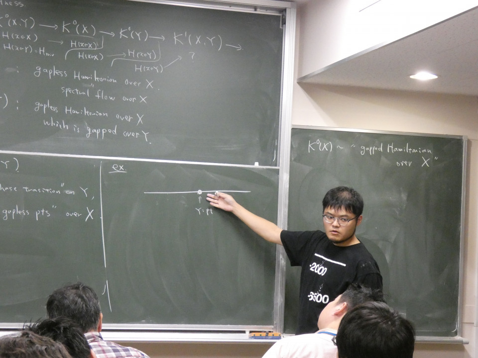 Math Seminar talks by Dr. Ken Shiozaki