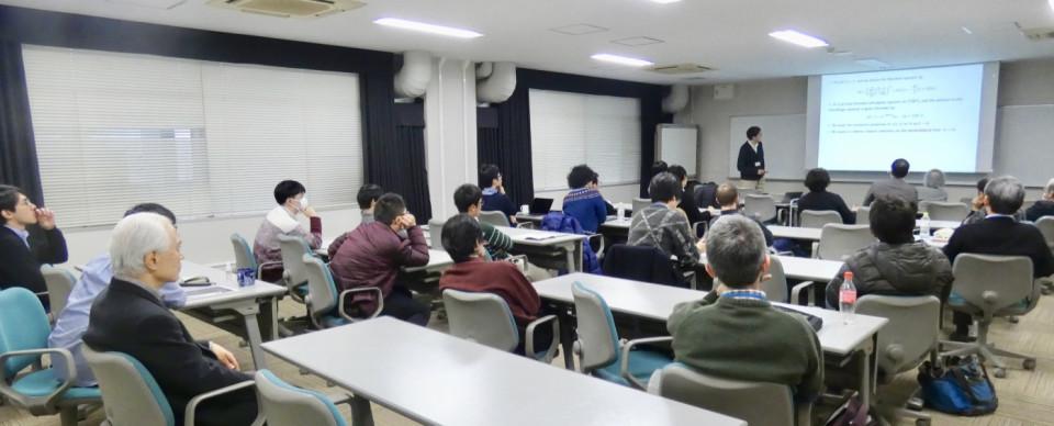 Math seminar by Dr. Shu Nakamura