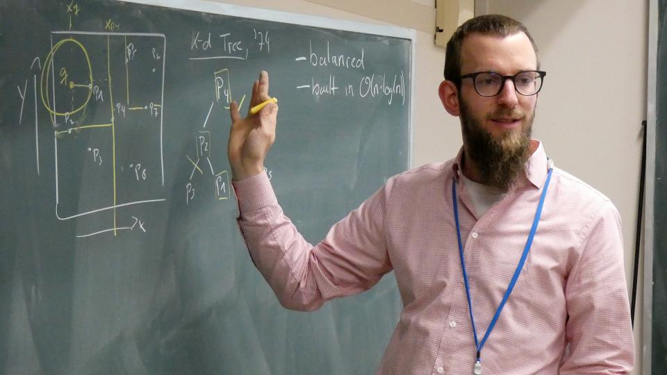 Math Seminar Talk by Dr. Martin Skrodzki, February 7, 2020. image