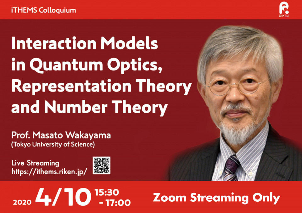 Interaction Models  in Quantum Optics,  Representation Theory  and Number Theory image