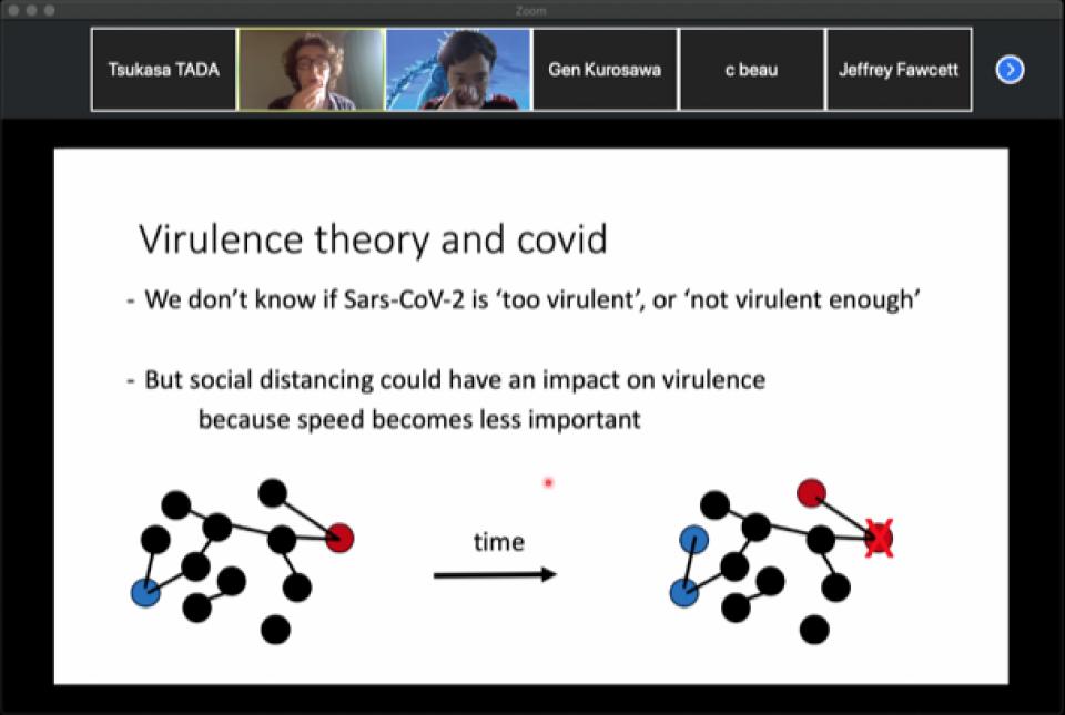 First virtual Biology Seminar on April 22, 2020 image