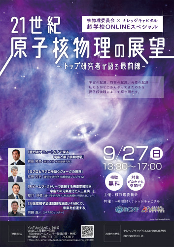 Perspective of nuclear physics in the 21 century Poster