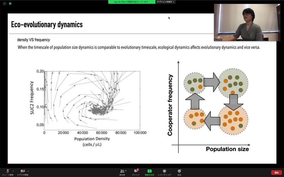 Biology Seminar by Dr. Hye Jin Park on September 16, 2020 image