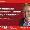 The Unreasonable Effectiveness of Quantum Theory in Mathematics