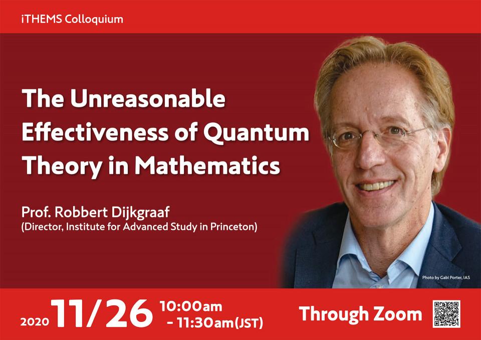 The Unreasonable Effectiveness of Quantum Theory in Mathematics image