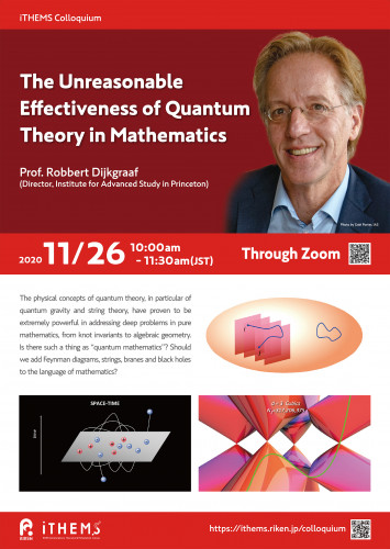 The Unreasonable Effectiveness of Quantum Theory in Mathematics ポスター