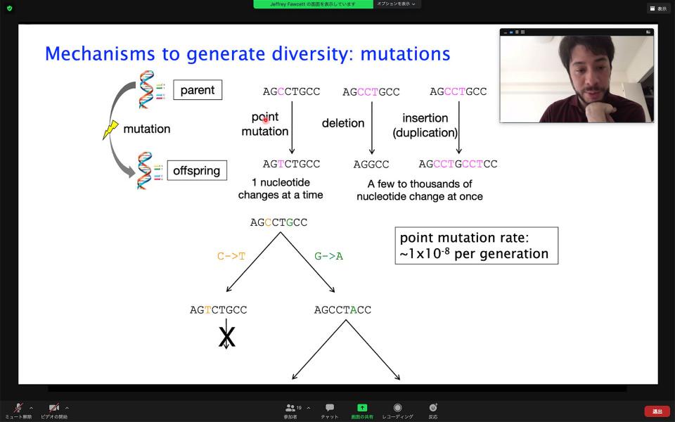 Biology Seminar by Dr. Jeffrey Fawcett on October 29, 2020 image
