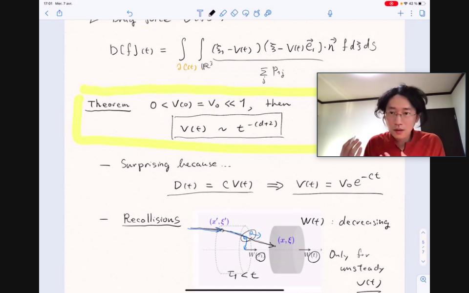 Math Seminar by Dr. Kai Koike on April 7, 2021 image