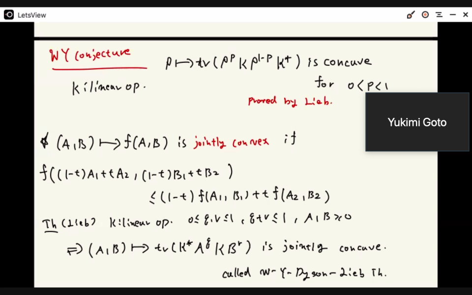 Journal Club of Information Theory SG by Dr. Yukimi Goto on April 14, 2021 image
