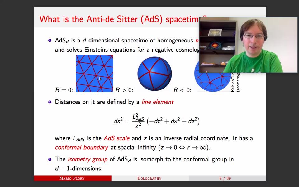 Quantum Matter Seminar by Dr. Mario Flory on April 14, 2021 image
