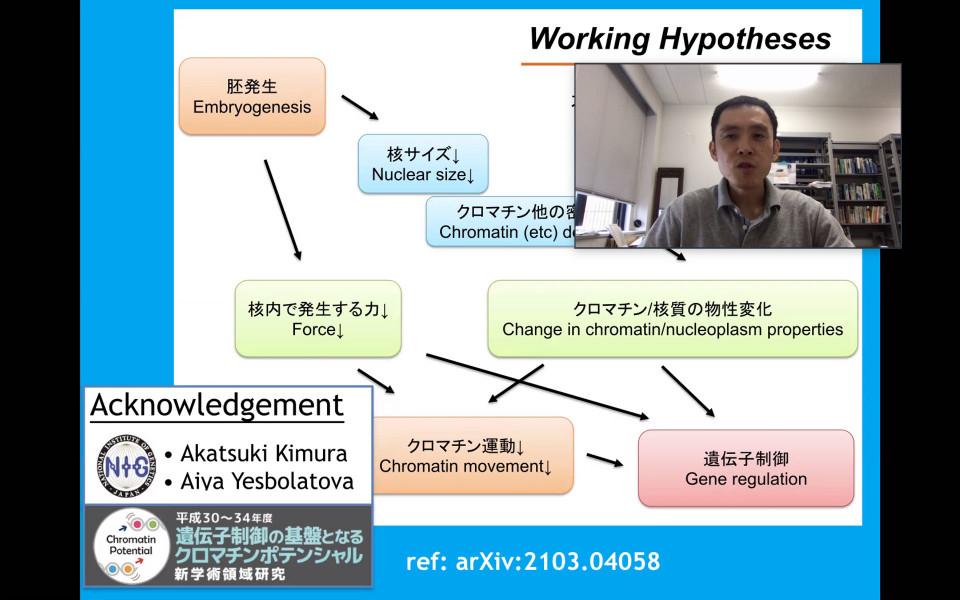 iTHEMS Biology Seminar by Prof. Takahiro Sakaue on July 1, 2021 image